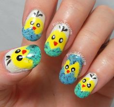 Peacock Pie: Easter Chickies for Dizain!