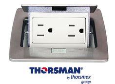 Mini Caja De Piso De Contactos Aluminio Thorsman 11000-21201  Compra aquí: http://ow.ly/Cl1o309fuzf  Mini caja de piso rectangular, alimentación eléctrica para equipo de telecomunicaciones y cómputo.