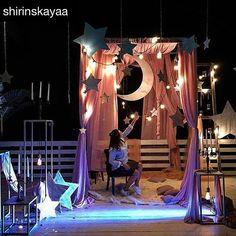 Тот самый случай, когда до звёзд руками достать в буквальном смысле 👀 #подсмотрено у @shirinskayaa ・・・ И уже по традиции фотозона от просто класснючих @marinagabbanaevent  #shirinskayawedding#свадьбыслюбовью#voskwedding 😍😍😍 #создательособенныхпраздников #weddingodessa #weddingua #weddingukraine #eventukraine #eventodessa #фотозонаодесса Debut Themes, Debut Ideas, Outer Space Party, Starry Night Wedding, Ramadan Decorations, Wedding Decorations, Daddy Daughter Dance, Happy Wallpaper, Prom Themes