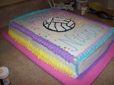 Gallery Volleyball Cakes Themed Birthday Cake  cakepins.com