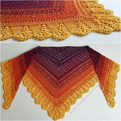 Erigeneia Crochet Shawl [Free Pattern]