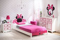 Delta Children Twin Bedroom Collection, Disney Minnie Mouse  http://www.babystoreshop.com/delta-children-twin-bedroom-collection-disney-minnie-mouse/
