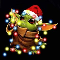 Happy Holidays All! Great art courtesy of Yoda Meme, Yoda Funny, Star Wars Baby, Star Wars Wallpaper, Disney Wallpaper, Natal Star Wars, Star Wars Weihnachten, Star Wars Zeichnungen, Yoda Drawing