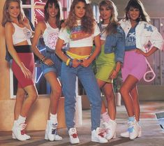 Miami Vice- what gals would wear.