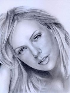 Charlize Theron by hnedoocko