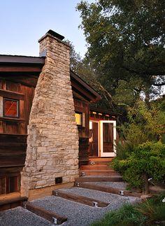 Outside Steps - Feldman Architecture