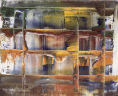 Gerhard Richter, Tableau abstrait, 1994, Huile sur toile,  Catalogue Raisonné: 814-7. http://www.gerhard-richter.com/art/paintings/abstracts/detail.php?paintid=8084