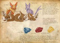 Pokemon Field Guide by CasteelArt on deviantART