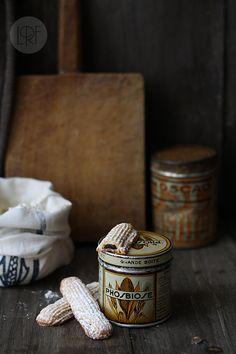 Pastas rellenas de chocolate