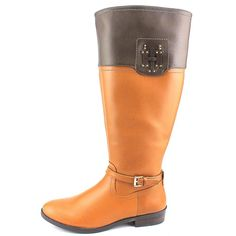 Tommy Hilfiger Wide Calf Women US Tan Knee High Boot * Click image for more details. (This is an affiliate link) Tan Knee High Boots, Tommy Hilfiger Women, Fashion Boots, Riding Boots, Calves, Best Deals, Brown, Link, Amazon