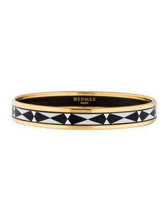 Narrow Enamel Bracelet