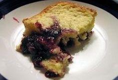 Blueberry Pudding Cake :: Recipe Kitchen