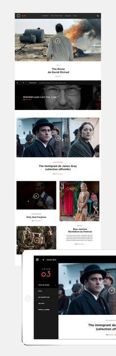 Arte Cinema on Behance