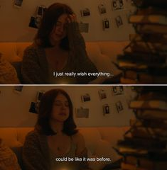 ― Carrie Pilby I just really wish everything…could be like it was before. Drama Quotes, Quotes Deep Feelings, Film Quotes, Thoughts And Feelings, Mood Quotes, You And Me Quotes, Quotes That Describe Me, Movie Lines, Heartfelt Quotes