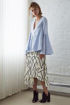 Ellery Resort 2015 - me encanta la blusa