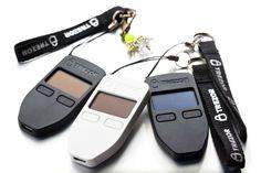 Three Trezor HD wallets
