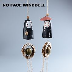 Spirited Away No Face Wind Bell – Top Notch Products  Want a cute No Face Wind Chime?  ★ 60% OFF ★ and FREE SHPPING for a Limited Time Only!  Get yours here ➩➩ http://mytopnotchproducts.com/products/spirited-away-no-face-wind-bell  TAG a friend who would also like one  #noface #no #face #myneighbortotoro #my #neighbor #totoro #ghiblistudios #ghibli #spiritedaway #spirited #away #chihiro #haku