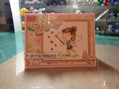 This month OCS is featuring Your Next Stamp on the blog. Kerri has created this lovely card using Mandi. Check out the blog for more details.