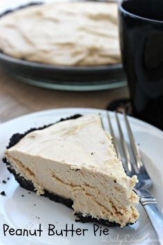 Peanut Butter Pie Re