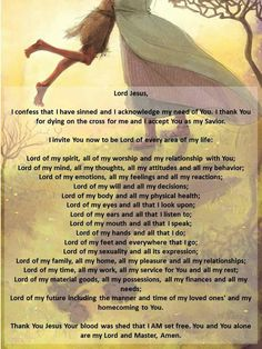 Lordship Prayer (Adapted)