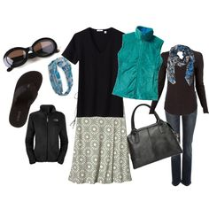 the PERFECT travel wardrobe, created by amybeth1977 on Polyvore
