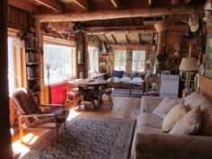 Blue Hill Vacation Rental - VRBO 473654 - 2 BR Acadia Cabin in ME, Peaceful Log Cabin in the Woods W/ Views