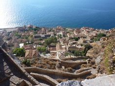 Monemvasia Greece, Grand Canyon, City Photo, Explore, Nature, Travel, Naturaleza, Viajes, Destinations