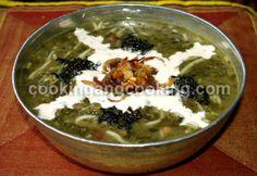 Ashe Reshteh (Persian Noodle Soup) love, love,love...