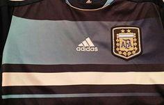 ADIDAS Argentina National Team Football Shirt #messi#argentina#fifa#worldcup#soccer#futbol#football#jerseys#ebay#ebayseller