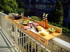 Buitenleven | De BALKONBAR=duurzaam, handig & hip! - Stijlvol Styling woonblog www.stijlvolstyling.com