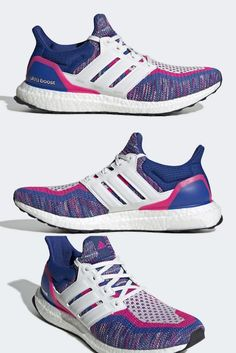 adidas ultra boost blue and pink