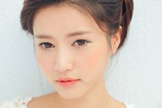 Park Sora. Asian makeup