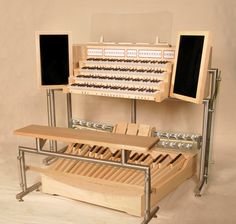 Renatus Ltd - Organ Building Services - In The Workshop