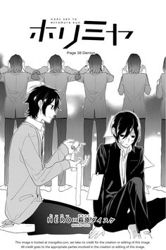You and your past self Horimiya 38: Demon. Crying with this chapter T.T