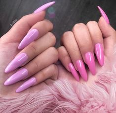 Image about fashion in 💜 pretty nail art 🖤 by Aycrlic Nails, Love Nails, How To Do Nails, Fun Nails, Glitter Nails, Best Acrylic Nails, Acrylic Nail Designs, Pretty Nail Art, Pretty Makeup