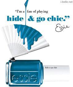 Spring 2014: Essie Hide & Go Chic Collection