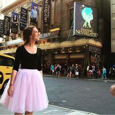 On the streets of New York City @emmbeexo is looking amazing in C'est Ça New York tulle skirt | Skirt: Clarisa 7-layers skirt in Blush Pink #CestCaNY #tutu #tulle #tulleskirt #bridal #bridetobe #bridesmaids #labordaysale #etsy #handmade #etsyusa #elegant #etsywholesale #wholesale #pinkskirt #sjp #sexandthecity #nycfashion #nycphotographer #fblogger