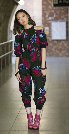 8a6cd43cde I am RED ankara jumpsuit by Gitas Portal by GitasPortal on Etsy https