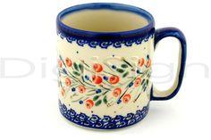 images of polish pottery | Polish Pottery Boleslawiec Stoneware Mug 1-10 Millena UNIKAT pattern ...