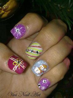 Hi Please Vote for my Christmas Design  by VivianasNails - Nail Art Gallery nailartgallery.nailsmag.com by Nails Magazine www.nailsmag.com
