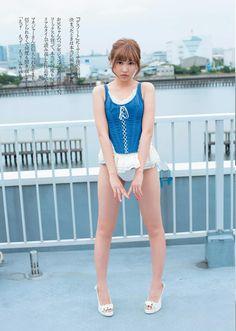 Sano Hinako 佐野ひなこ x Amane Misa 弥海砂 Weekly Playboy No 27 2015 Pics   Beautiful Song Lyrics