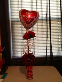 Candy Bouquet with balloon and flower