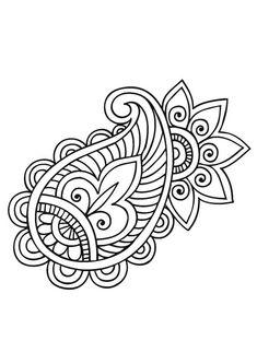 mandala-a-colorier-facilement-31 #mandala #coloriage #adulte via dessin2mandala.com
