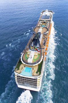 The MSC Preziosa has 14 decks, 21 bars, four restaurants, and a theater. Royal Caribbean International, Royal Caribbean Cruise, Cruise Travel, Cruise Vacation, Msc Cruises, Luxury Cruises, Luxury Travel, Patagonia, Vintage Travel