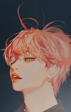 Kpop Drawings, Cute Drawings, Anime Art Girl, Manga Art, Character Art, Character Design, Handsome Anime, Kpop Fanart, Anime Sketch