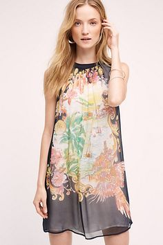 Well. I clearly need this -- Varese Silk Dress #anthropologie