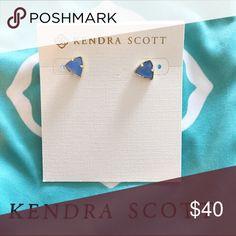 Kendra Scott Parker stud earrings. Brand new, never worn. Kendra Scott Jewelry Earrings
