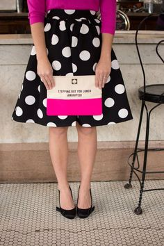 Preppy polka dots and kate spade for the holidays Kate Spade, Pink Polka Dots, Look Chic, Preppy, Ideias Fashion, My Style, Womens Fashion, Shopping, Clothes