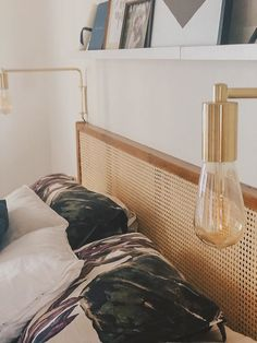 Home Decor Accessories .Home Decor Accessories Ikea Bedroom, Home Decor Bedroom, Room Decor, Cheap Wall Decor, Cheap Home Decor, Style At Home, Diy Furniture Renovation, Deco Paris, Rattan Headboard
