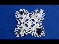 Turkish needle Lace and Crochet - Knitting Filet Crochet, Crochet Motif, Crochet Doilies, Crochet Flowers, Crochet Lace, Crochet Patterns, Needles Play, Crochet Woman, Needle Lace